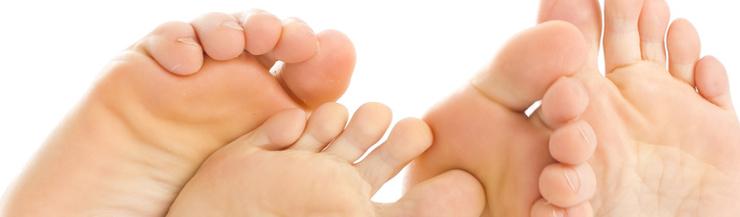 Fußreflexzonenmassage bei medizinischer Massage in München